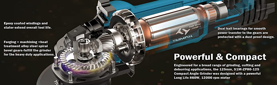 engineered for a broad range of grinding