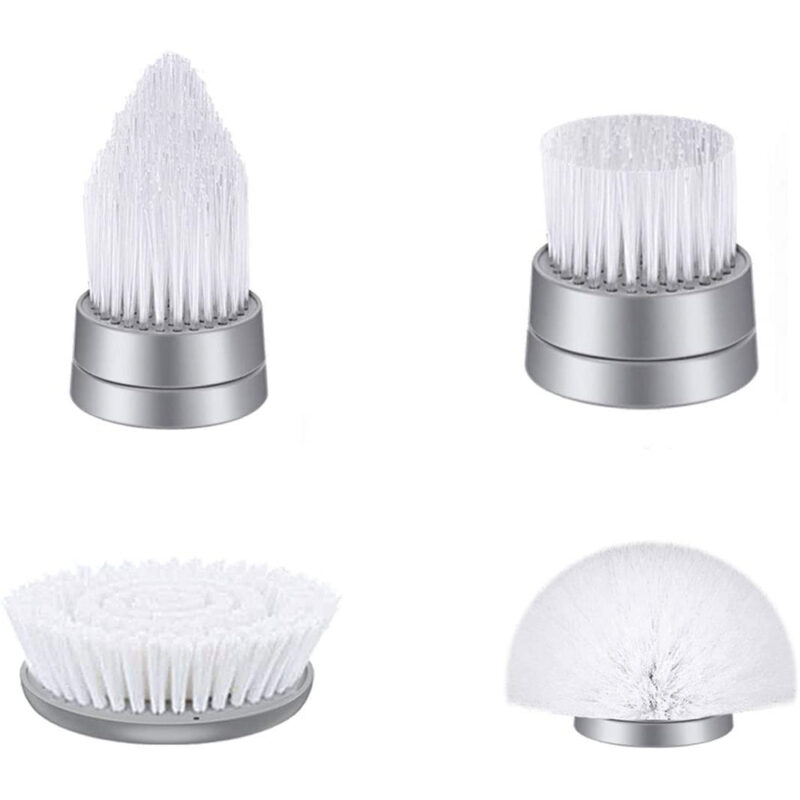 brush heads for electric spin scrubber
