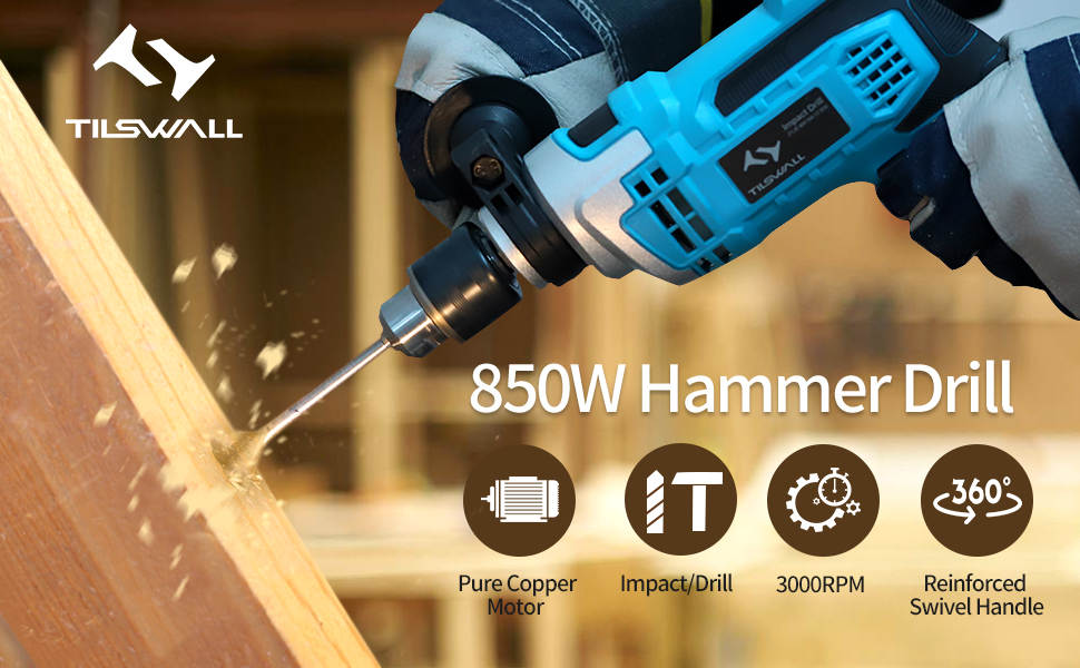 850w hammer drill
