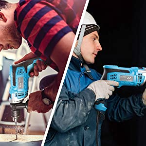 use of the electric hammer drill