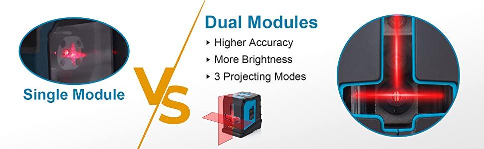 single module vs dual modules