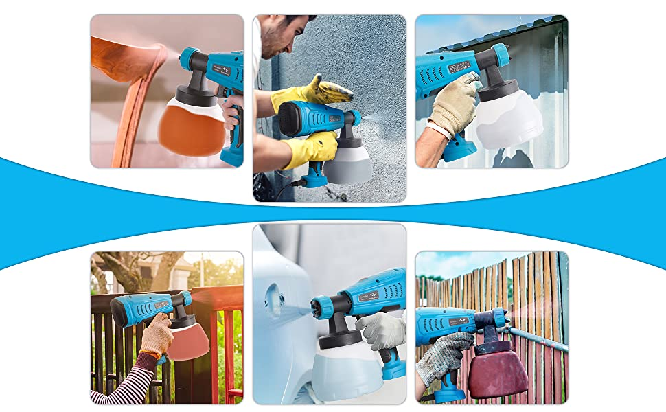 uses of electric paint sprayers