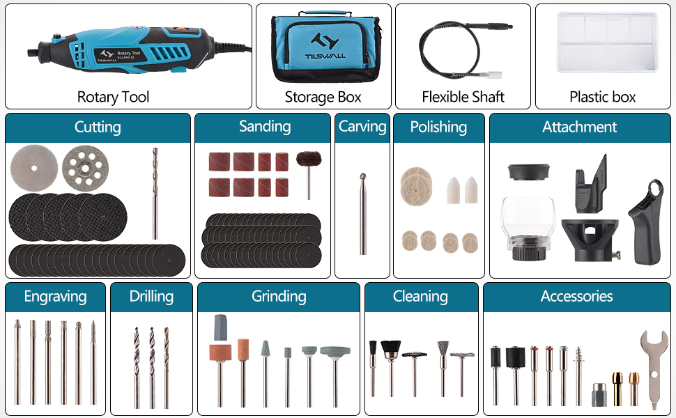 accessories for rotary tools