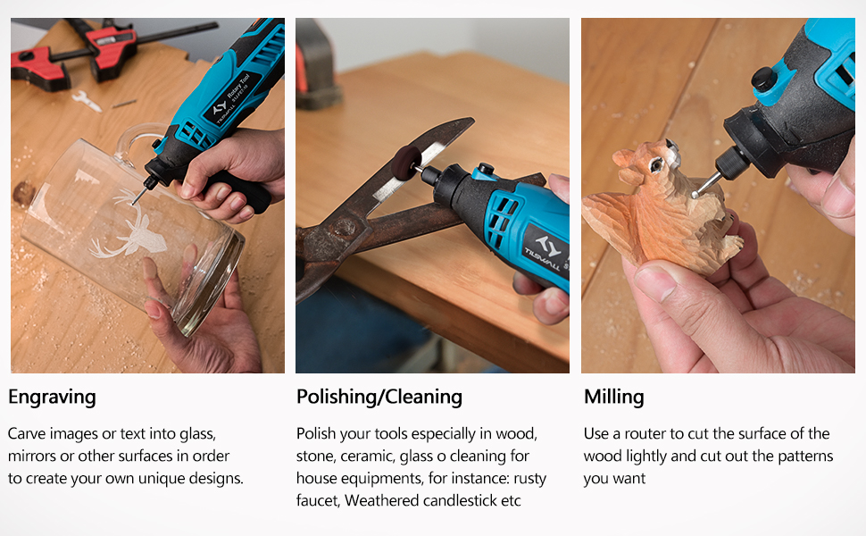 purpose of the rotary tool kit