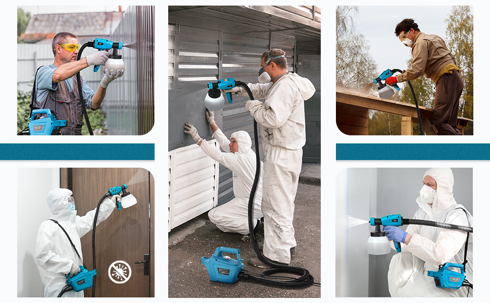 uses of paint sprayers