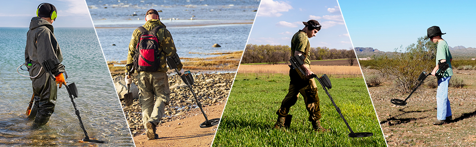 uses of the metal detector